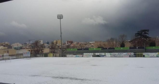 UFFICIALE - Bitonto-Taranto rinviata per neve