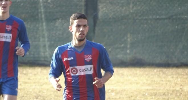 Rahmi (Chiavazzese), in gol nel derby