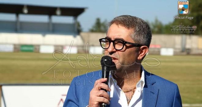 Il patron G. Zippo, Albanova Calcio