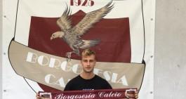 Borgosesia-Sanremo 2-2, i granata festeggiano la salvezza