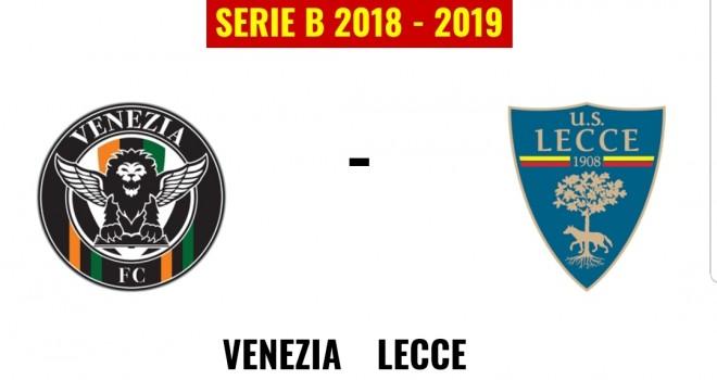 Venezia-Lecce formazioni ufficiali