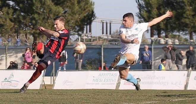 Di Lauri gol. Ph. S.S. Campobasso Calcio