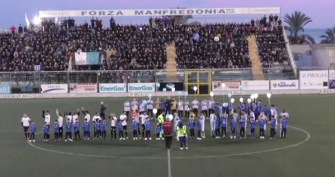 VIDEO - Spettacolo e polemiche al Miramare: 1-1 tra Manfredonia e Sly