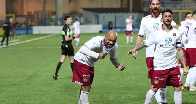 Reggina. L'incredibile serata di Allan Baclet. Guarda il VIDEO