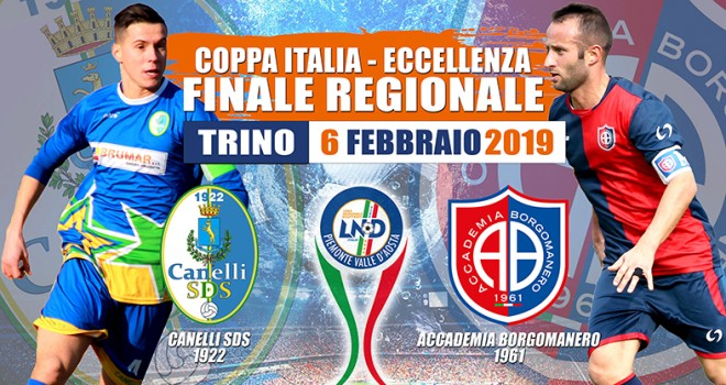 Canelli-Accademia per la Coppa regionale