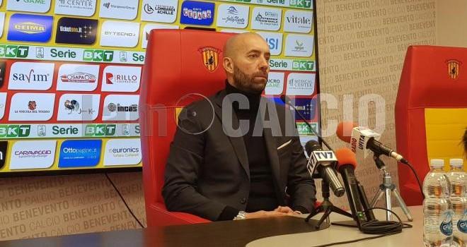"""Benevento. Bucchi: """"Col Palermo sfida importante ma non decisiva"""""""