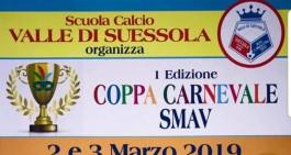 """La scuola calcio Valle di Suessola organizza la """"Coppa Carnevale"""""""