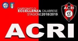 Acri, domenica arriva la Reggiomediterranea. Sarà Giornata Rossonera