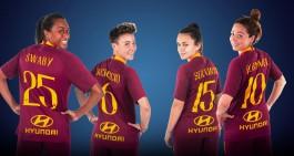 Hyundai annuncia la partnership con la squadra femminile della Roma