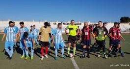 "Canosa, impresa sfiorata: il Manfredonia passa 4-3 al ""San Sabino"""