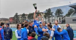 Virtus Villa in trionfo, la Coppa nella bacheca ossolana