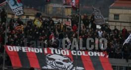 Messina-Nocerina: divieto di trasferta per i tifosi rossoneri