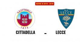 Cittadella-Lecce: le formazioni ufficiali