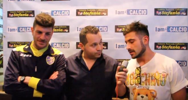 I due calciatori dell'Oleggio Castello