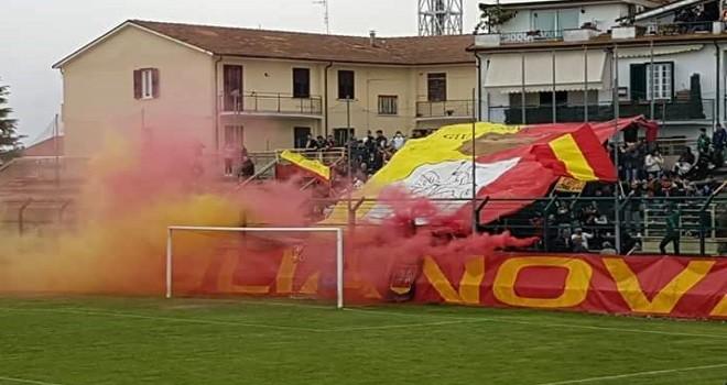 Giulianova: multa salata e stadio diffidato. 14 giocatori squalificati