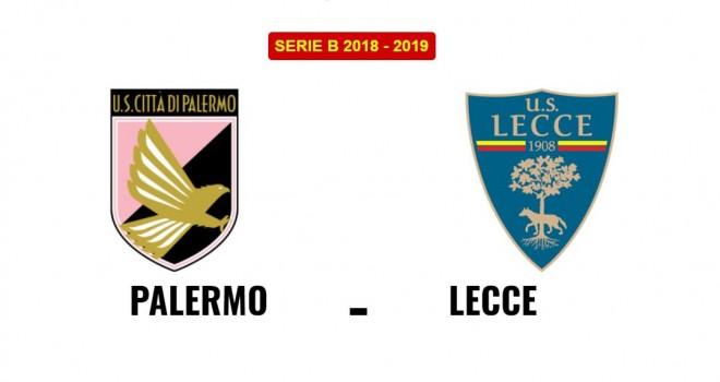 Palermo-Lecce: le formazioni ufficiali
