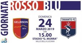 "Gelbison-Taranto: sarà ""Giornata Rossoblù"""