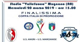 Coppa Promozione: le disposizioni per la finale Marcianise-Angri