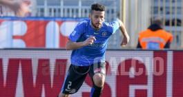Arezzo-Novara 1-1, gli azzurri rimontano in Toscana