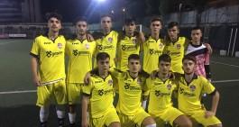 Jun. Le Aquile Rosanero battono 1-0 il Montesarchio e lo scavalcano