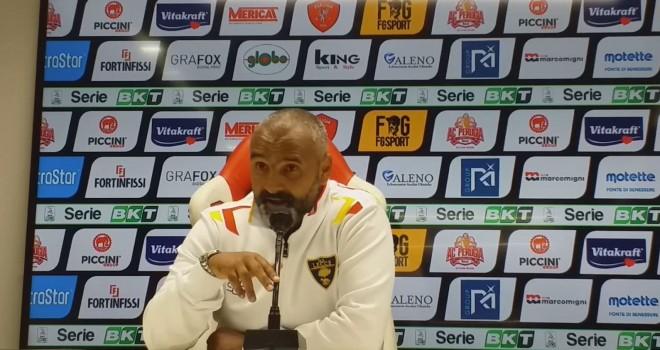 """Lecce. Liverani: """"La gara con il Brescia sarà uno spot per il calcio"""""""