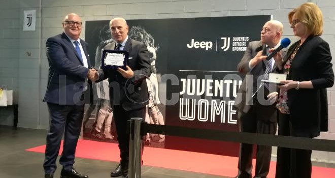 """A Jacobelli il premio """"Astra per lo Sport"""", ospite la Juventus Women"""