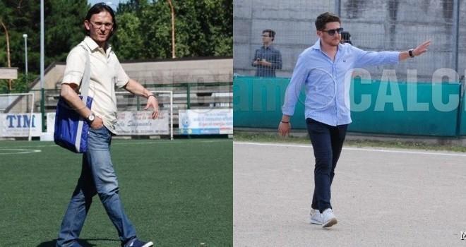 Il D.s. G. Zarro ed il Pres. G. Boniello