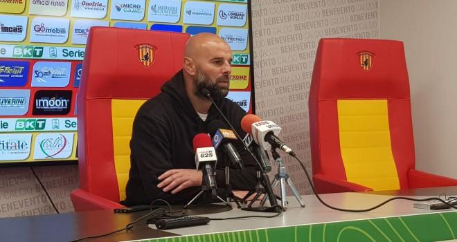 """Palermo. Stellone: """"Grande vittoria, il Benevento è squadra forte"""""""