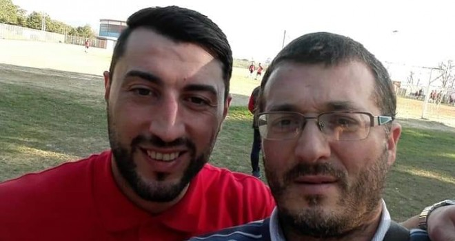 Mister Petrassi con il Dg Biagio Angotti