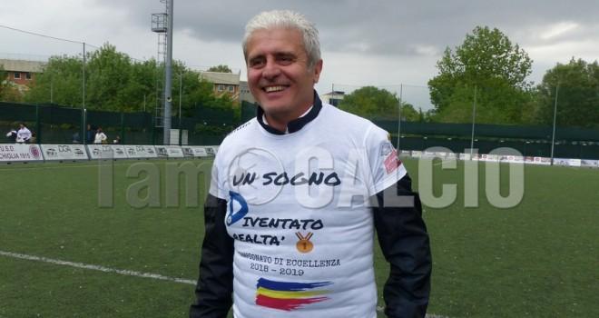 Il presidente verbanese Del Monaco