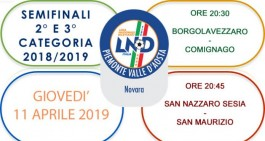 Coppa Seconda e Terza categoria, ecco le semifinali