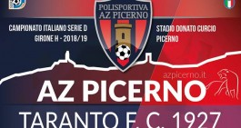 Picerno-Taranto, aperta la prevendita dei biglietti per giovedì