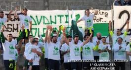 Olevanese promossa in Seconda: i biancoverdi vincono il girone C