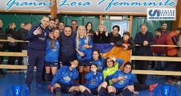 G. Loia C5 Fem.: Appio. Sp. Village spazzato via, Super-Zotti ne fa 6!