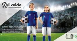 Volkswagen e AIC ideano la W il Calcio Academy per giovani calciatori