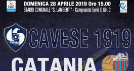 """Domenica c'è Cavese-Catania: sarà """"la partita del Popolo Blufoncè"""""""