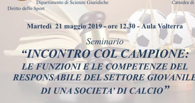 Alle 12.30 inizierà il seminario