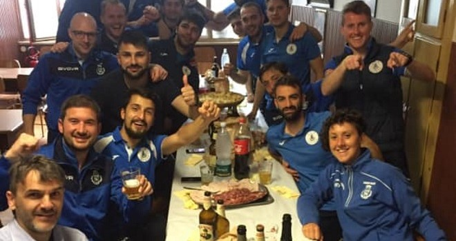 Il Locana festeggia la vittoria