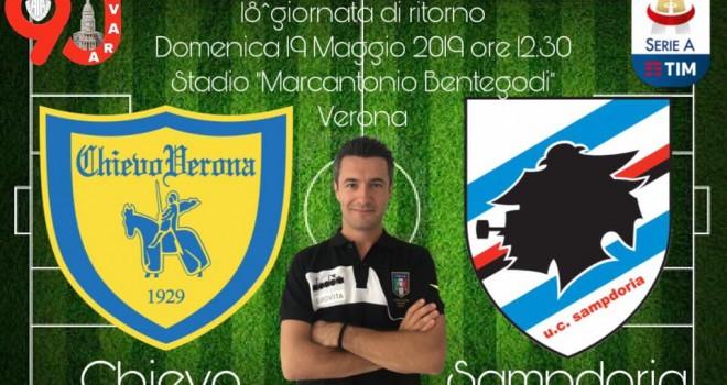 Rossi nella terna di Chievo-Sampdoria