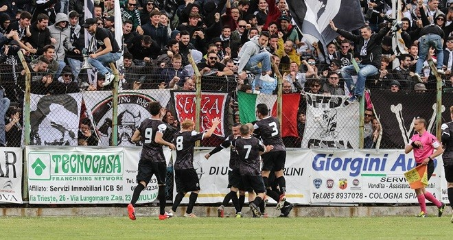 Serie D/F: Cesena in Serie C. Retrocedono Isernia e Castelfidardo