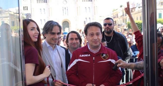 Il presidente Luca Gallo
