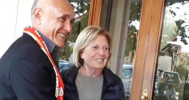 Adriana Poli Bortone e Pasculli
