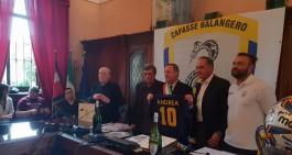 Cafasse Bal. premiato in Comune. Fioccardi riconfermato in panchina