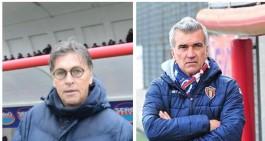 Due ex allenatori del Potenza seguiti dal Taranto: Ragno e Giacomarro