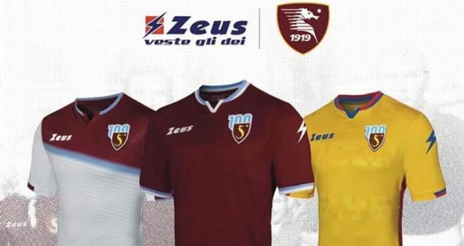 Salernitana: presentate le divise ufficiali con nuovo logo e sponsor