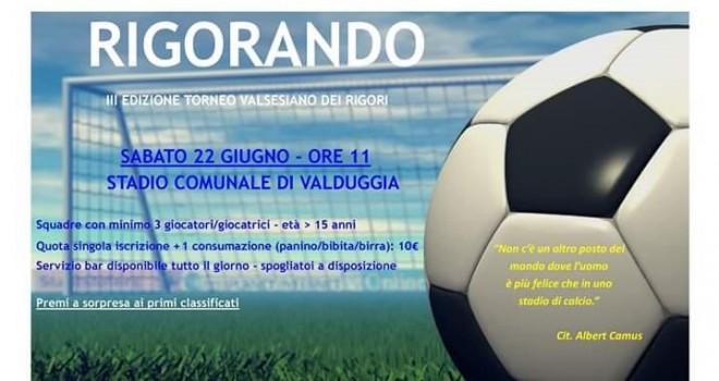Rigorando 2019, ci sarà anche I Am Calcio!!!