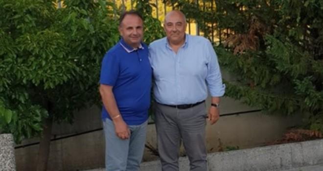 Bardi con il presidente Margherita