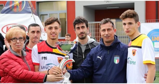 La famiglia Palo premia il Benevento