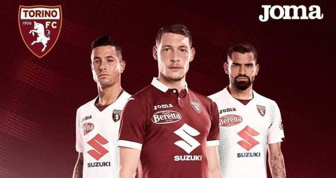 Le nuove divise del Torino