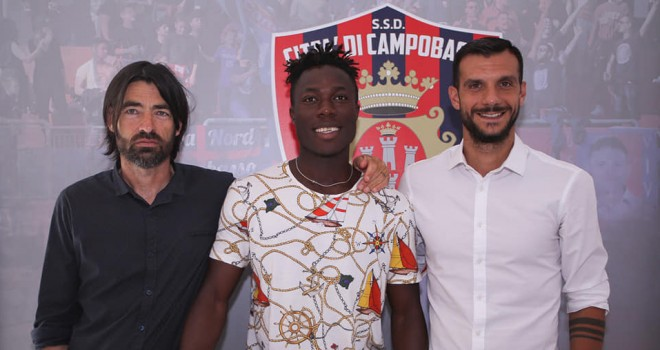 Ndjambè e Tano al Campobasso